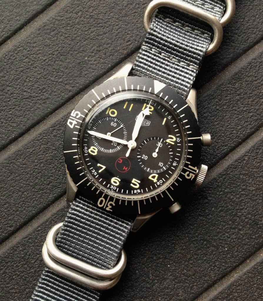 Heuer Vintage Military replica Watch