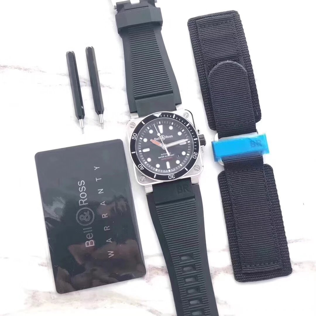 Replica Bell & Ross BR 03 92 with Nylon Strap